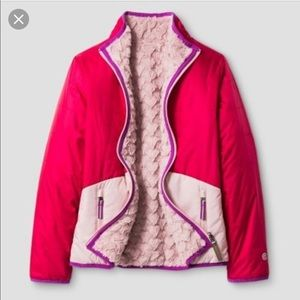 C9 champion girls reversible puffer jacket L